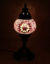 Multicolour Turkish Moroccan Style Mosaic Table Lamp Lampshade Hand Craft MU111