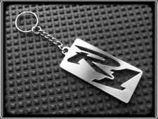 KEYRING for YAMAHA YZF R1 - STAINLESS STEEL - HAND MADE - CHAIN LOOP FOB