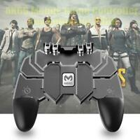 AK66 Six Finger All-in-One Mobile Game Controller Gamer Fire Key Button for PUBG