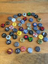 50 Used Mixed Beer Bottle Caps Tops For Arts And Crafts Tables Bar Tops Etc