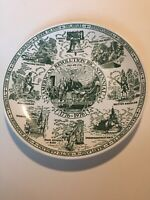 Vintage American Revolution Bicentennial Collectors Plate- 1976 Commemorative