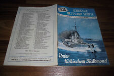 SOS # 54 -- under Turkish crescent moon // S.M.S. Goeben and S.M.S. Breslau/1955