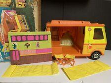 Vintage 1970 Mattel Barbie Country Camper Rv w/ Accessories, Original Box
