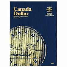Whitman Coin Folder 4008 CANADA Dollar 2009-DATE Volume 5