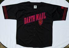 Star Wars Darth Maul Jersey Black Sewn Lee Sport XL Phantom Menace Episode 1