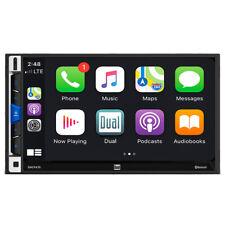 "Dual DMCPA70 2-DIN In-Dash 7"" Touchscreen Bluetooth Digital Multimedia Receiver"
