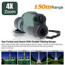 US!Portable Digital Monocular Scope Infrared IR 250m Range M01 Night Vision 4x50