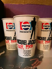 Michael Jackson - Bad World Tour 1 Pappbecher paper cup Pepsi - Germany 1988