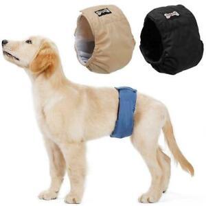 Rüdenbinde für Hunde Wraps Rüdenbinde Schutzhose Windel Waschbare XS-XL Diaper