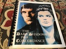 The Dark Shadows 1968 Concordance: Volume I - 1989