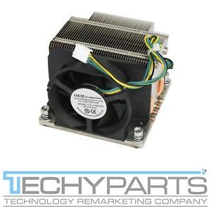 Intel Xeon Socket LGA2011 Heatsink Cooler Fan Copper Base Heatpipe Square ILM