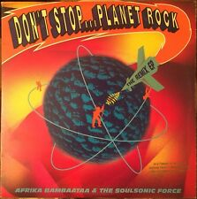 Afrika Bambaataa - Don't Stop Planet Rock - New - 2xLP - Rare Promo copy - NEW