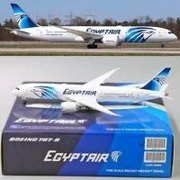 ** SALE ** EgyptAir B787-9 Reg: SU-GER JC Wings Scale 1:400 Diecast Model