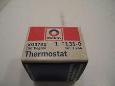 NOS Delco 180 Degree Thermostat 131-8 Gr. 1.246 3043320 (Edsel/Ford/Mopar/Deere)