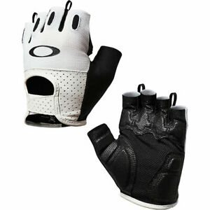 Brand New White Oakley Men's Factory Road 2.0 Cycling Gloves XS S M L XL
