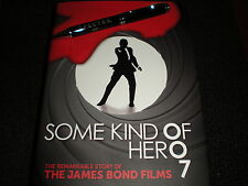 JAMES BOND 007 SPECTRE PEN & SOME KIND OF HERO BOOK - SKYFALL, CASINO ROYALE