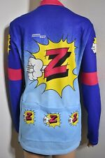 Mens Tommaso Cycling Team Z Vetements Cycling Jersey Pop Art Italy Size 3