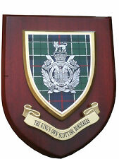 Kings Own Scottish Borderers Military Wall Plaque uk hand made for MOD