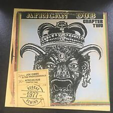 Joe Gibbs & The Professionals-AFRICAN DUB Chapitre deux LP-jglp 200