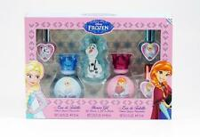 FROZEN by Disney 6 Pc Set: 2 x 1.05 oz EDT Spray,3 x 0.15 oz EDT Spray & S/G NIB