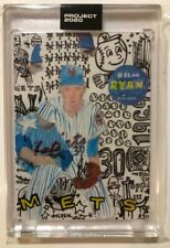 Topps PROJECT 2020 Nolan Ryan - Card #30 by Gregory Siff  - With Box Free Ship