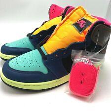 Nike Air Jordan 1 Retro High OG GS Youth shoes Tokyo Bio Hack 575441-201 sz 4-7