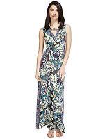 New M&S Per Una Floral Maxi  Dress Sz UK 10