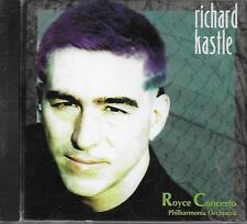 CD Album: Richard Kastle: Royce Concerto. Philharmonia Orchestra. Yum. A4