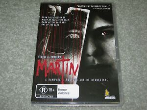 Martin - George A. Romero - Brand New & Sealed - Region 0 - DVD - Rare