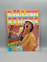 Rolling Stones Original 1982 German Magazin with beautiful pics and Poster