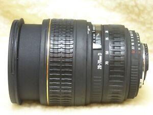 Used Sigma AF 28 - 70mm f2.8 D lens  Nikon fit - EX ASPHERICAL DF  + £30 FILTER