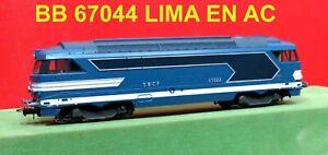 LIMA BB 67044 SNCF EN AC 3 RAILS   EN TRES BON ETAT