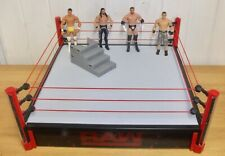 WWE  - Main Event Raw wrestling ring, Ultimate Entrance Stage & action figures