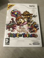 NEUF NEW trixie in toyland myth makers nintendo WII sealed blister
