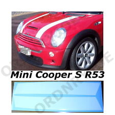 BMW Mini Bonnet Stripes R53 Cooper S