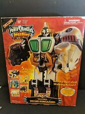 Power Rangers Wild Force Deluxe Kongazord with box