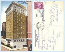 Peachtree on Peachtree Hotel Building Atlanta Georgia Advertising Postcard