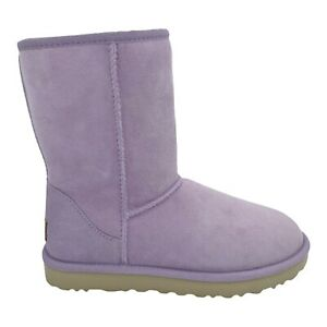 UGG CLASSIC SHORT II LILAC FROST SUEDE SHEEPSKIN WOMEN'S BOOTS US SIZE 7