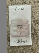 Fresh Rose Deep Hydration Face Cream Sample 2ml-0.06 fl oz