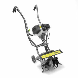 The Handy PMT Petrol 2-Stroke Mini Tiller 30cm/12in