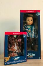 """American Girl Logan Everette 18""""doll w/FREE performance outfit"""