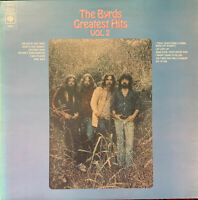 THE BYRDS GREATEST HITS VOL 2 LP CBS UK ORANGE LABELS NEAR MINT PRO CLEANED
