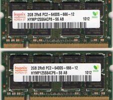 New 4GB 2x 2GB Kit Apple iMac 8,1 A1224 / 8,1 A1225 DDR2 Laptop RAM Memory