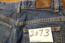 #2073s L L Bean Original Fit / Natural 100% cotton women jeans size 8 Tall
