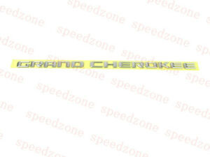 2014-2016 Jeep Grand Cherokee Door Nameplate Emblem Chrome new OEM 68110321AC