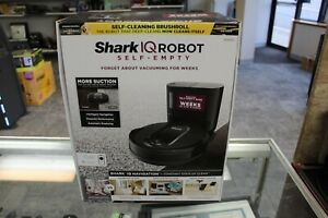 Shark R100S IQ Robot Vacuum Cleaner with Self-Empty Base Black NEW