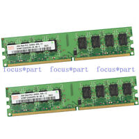 New Hynix 2X2GB 4GB PC2-6400 DDR2-800MHZ 240pin Dimm RAM Desktop Memory Non-ECC