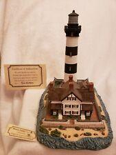 Harbour Lights 189 Morris Island (Then) Sc Lighthouse, Coa, Box Low #297 c.1996