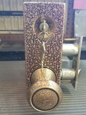 Old Style Schlage A Series Interconnected Lock 616 Finish