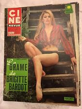 Ciné Revue N°4 du 26 janvier 1967/ Taina Beryl - Claude Giraud